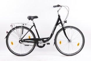 "Miesto dviratis Sector Lunnette 28"", juodas kaina ir informacija | Miesto dviratis Sector Lunnette 28"", juodas | pigu.lt"
