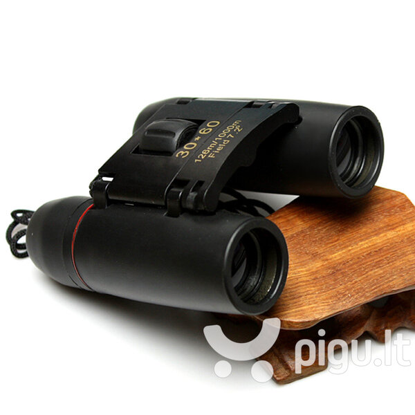 Žiūronai Binoculars Day and night vision, 30 x 60 internetu