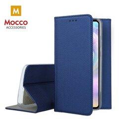 Mocco Smart Magnet Book Case For Xiaomi Redmi Note 9T 5G Blue kaina ir informacija | Telefono dėklai | pigu.lt