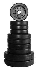 Kompozito svorių ir grifo komplektas Top sport 25 kg