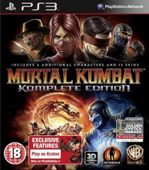 Mortal Kombat Complete Edition,PS3
