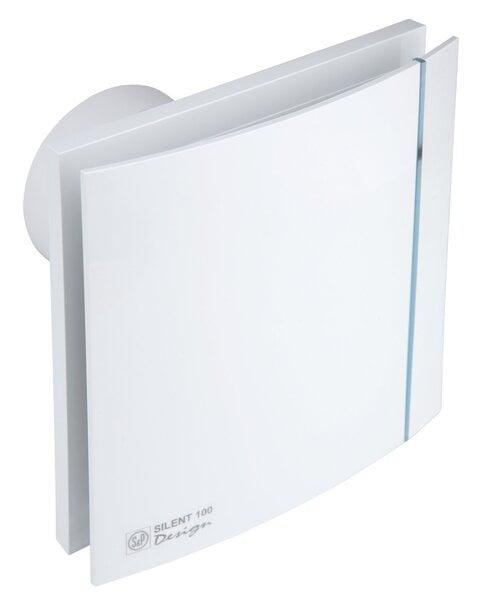 SILENT 100 CZ DESIGN kaina ir informacija | Vonios ventiliatoriai | pigu.lt