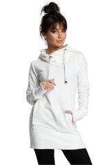 Džemperis moterims BE 115242, smėlio kaina ir informacija | Džemperiai moterims | pigu.lt