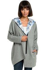 Džemperis moterims BE 121615 BE, pilkas kaina ir informacija | Džemperiai moterims | pigu.lt