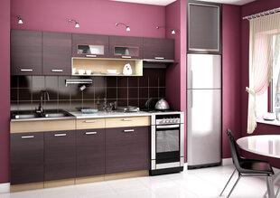 Virtuvinių spintelių komplektas Moreno kaina ir informacija | Virtuvės baldų komplektai | pigu.lt