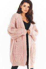 Kardiganas moterims Awama 149726, rožinis kaina ir informacija | Megztiniai moterims | pigu.lt