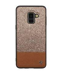 Tellur skirtas Samsung Galaxy A8, auksinis kaina ir informacija | Telefono dėklai | pigu.lt