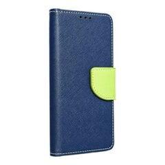 Telefono dėklas Hallo Fancy Book Case, skirtas Nokia 6.1 Plus / Nokia X6 (2018), mėlynas/žalias kaina ir informacija | Telefono dėklai | pigu.lt