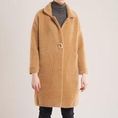Tiesaus silueto švelnus paltas kaina ir informacija | Megztiniai moterims | pigu.lt