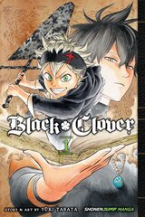Komiksas Manga Black clover vol 1 kaina ir informacija   Komiksai   pigu.lt