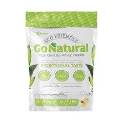 Maisto papildas Go Powders Go Natural išrūgų Baltymai Whey Protein, Vanilės Skonio, 1 kg kaina ir informacija | Baltymai | pigu.lt