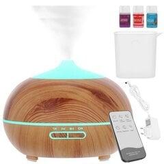 Kvapų difuzorius-oro drėkintuvas su pultu, 300 ml kaina ir informacija | Kvapų difuzorius-oro drėkintuvas su pultu, 300 ml | pigu.lt