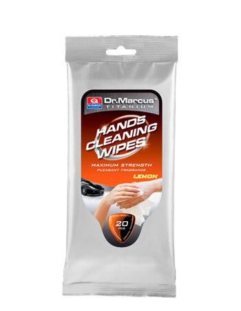 Drėgnos servetėlės rankoms valyti Dr. Marcus kaina ir informacija | Valymo šluostės, servetėlės | pigu.lt