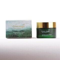 Naktinis veido kremas GREEN ANGEL SEAWEED & 6 ESSENTIAL OILS, 50 ml kaina ir informacija | Veido kremai | pigu.lt