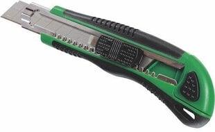 Peilis 18mm + 4 geležtės Stalco kaina ir informacija | Mechaniniai įrankiai | pigu.lt