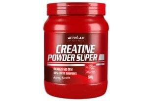 Maisto papildas ActivLab Creatine Powder Super, 500 g kaina ir informacija | Vitaminai, maisto papildai, preparatai gerai savijautai | pigu.lt