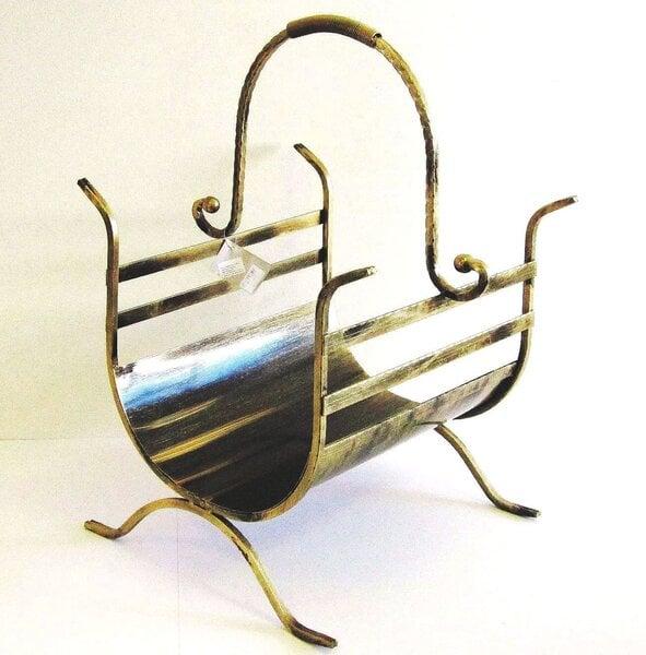 Dėklas malkoms 65*40cm kaina ir informacija | Priedai šildymo įrangai | pigu.lt
