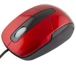 Laidinė optinė pelė Esperanza Titanum TM108R, raudona kaina ir informacija | Pelės | pigu.lt