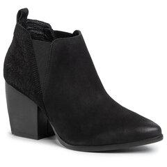 Aulinukai moterims Lasocki, juodi kaina ir informacija | Aulinukai, ilgaauliai batai moterims | pigu.lt