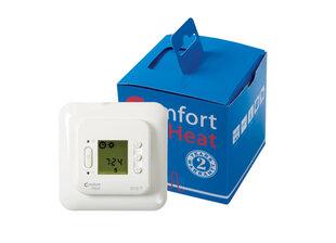 Potinkinis programuojamas termostatas C 510T su laikmačiu ir grindų temperatūros davikliu 16A; 3600W; 230V kaina ir informacija | Grindų ir veidrodžių šildymo kilimėliai | pigu.lt