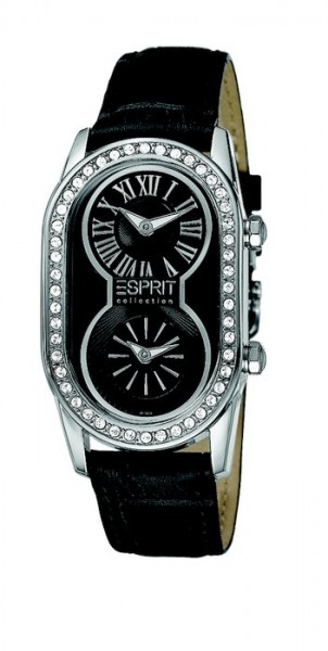 Laikrodis moterims Esprit Collection Athena Night kaina ir informacija | Laikrodžiai moterims | pigu.lt