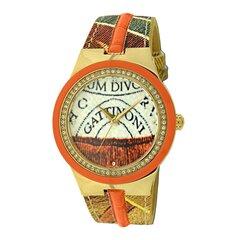 Laikrodis moterims Gattinoni Meissa Orange