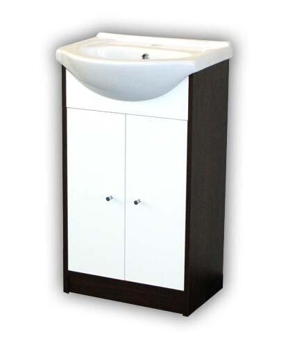 Vonios spintelė su kriaukle Sara kaina ir informacija | Vonios baldai | pigu.lt