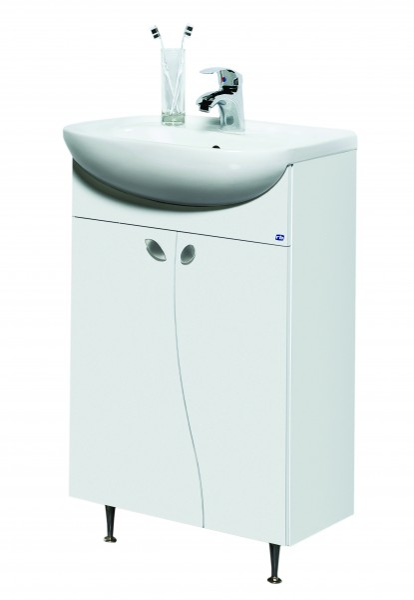 Vonios spintelė su praustuvu ELZA EA50-3 kaina ir informacija | Vonios baldai | pigu.lt