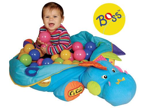 Dinozauras su kamuoliukais K's Kids I am the BOSS