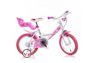 """Mergaičių dviratukas Dino bikes 14"""", 144RN-05LH"""