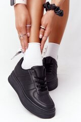 Laisvalaikio batai moterims Thi Is Me, juodi kaina ir informacija | Sportiniai bateliai, kedai moterims | pigu.lt
