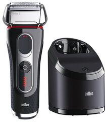 Braun 5090 CC Series 5 Barzdaskutė kaina ir informacija | Barzdaskutės | pigu.lt