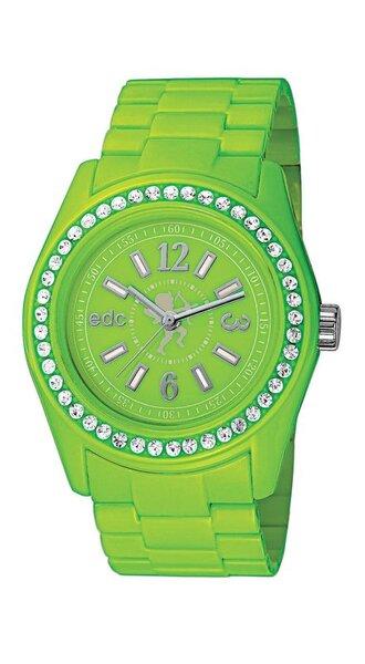 Laikrodis moterims edc by esprit Disco Glam Waterfall Green With Stones kaina ir informacija | Laikrodžiai moterims | pigu.lt