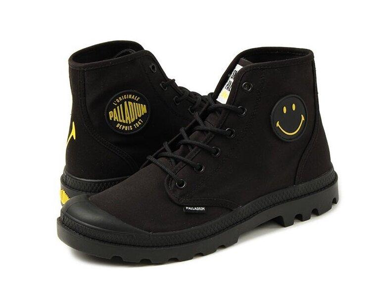 Laisvalaikio batai moterims Palladium Pampa HI SML, juodi