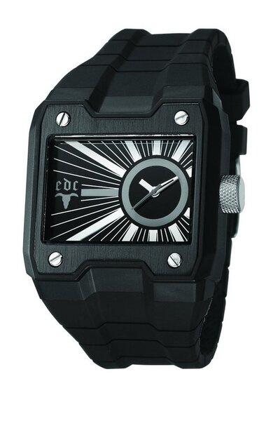 Vyriškas laikrodis edc by esprit Gun Powder Midnight Black kaina ir informacija | Vyriški laikrodžiai | pigu.lt