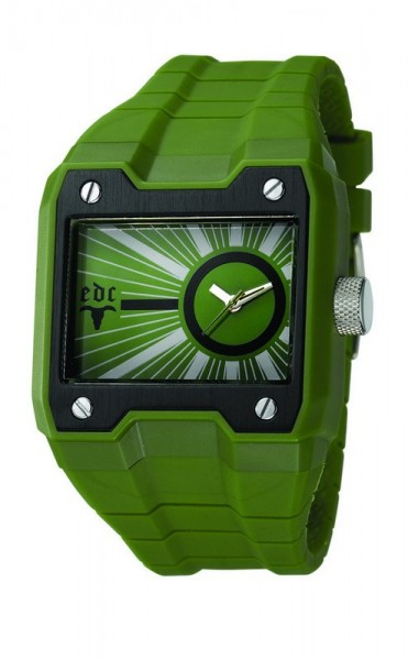 Vyriškas laikrodis edc by esprit Gun Powder Olive Green kaina ir informacija | Vyriški laikrodžiai | pigu.lt
