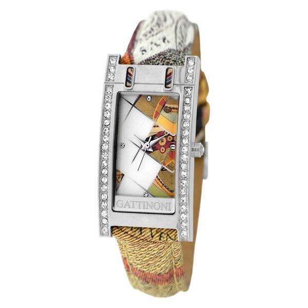 Laikrodis moterims Gattinoni Gamma Planetarium Rubik Silver kaina ir informacija | Laikrodžiai moterims | pigu.lt