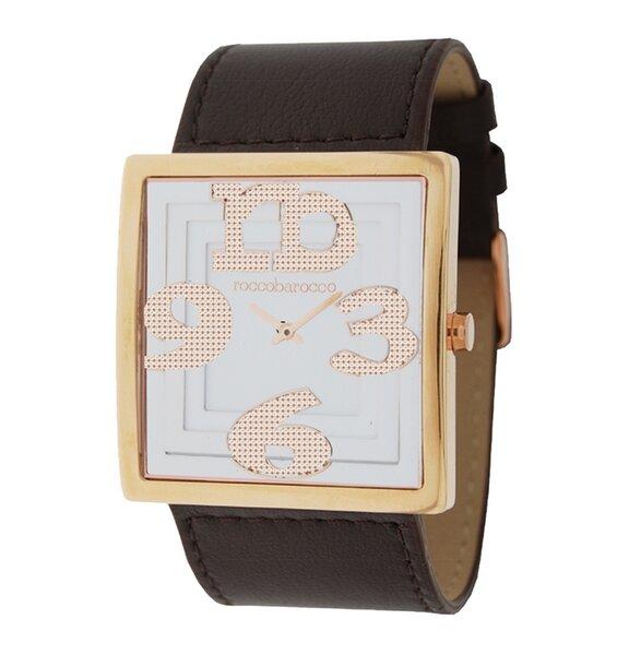 Laikrodis moterims Roccobarocco Frame Gold kaina ir informacija | Laikrodžiai moterims | pigu.lt