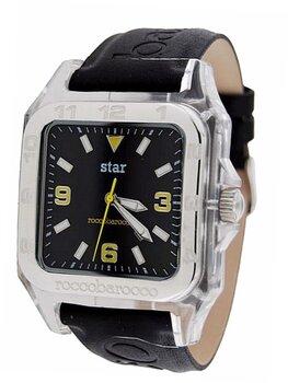 Laikrodis Roccobarocco Star Sport Sub Black Yellow kaina ir informacija | Vyriški laikrodžiai | pigu.lt