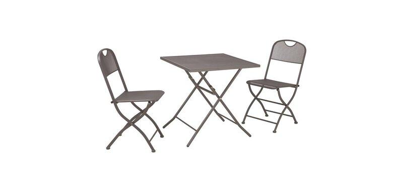 Sulankstomų baldų komplektas Mesh kaina ir informacija | Lauko baldai | pigu.lt