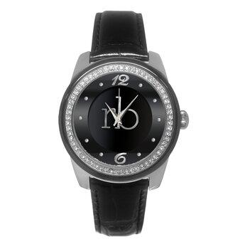 Laikrodis moterims Roccobarocco Titti Black kaina ir informacija | Laikrodžiai moterims | pigu.lt