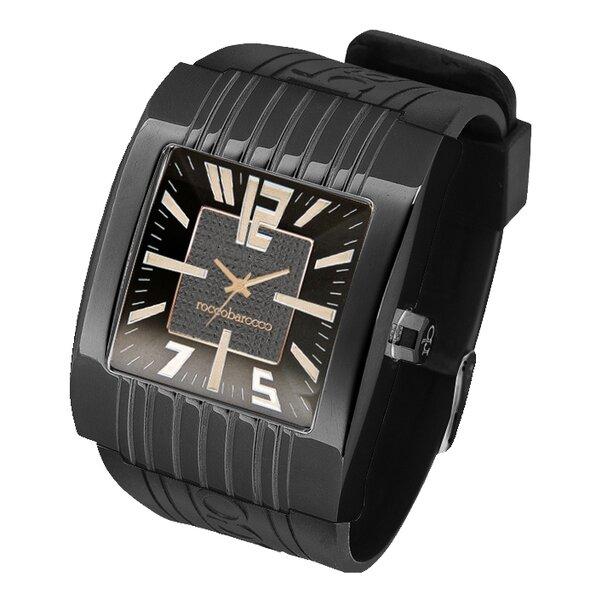Vyriškas laikrodis Roccobarocco Young Black kaina ir informacija | Vyriški laikrodžiai | pigu.lt