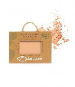 Ekologiška blizgi pudra veidui Couleur Caramel 7 g kaina ir informacija | Pudros, bronzantai, skaistalai | pigu.lt
