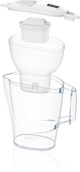 BRITA vandens filtravimo indas ALUNA 2.4L baltos spalvos