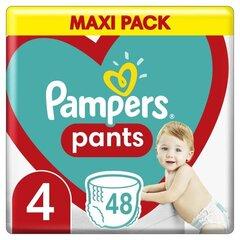 Sauskelnės-kelnaitės PAMPERS Pants Maxi Pack 4 dydis 9-15 kg, 48 vnt. kaina ir informacija | Sauskelnės-kelnaitės PAMPERS Pants Maxi Pack 4 dydis 9-15 kg, 48 vnt. | pigu.lt