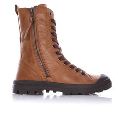 Aulinukai moterims Pampa Hi Rise Zip J200305080, rudi kaina ir informacija | Aulinukai, ilgaauliai batai moterims | pigu.lt