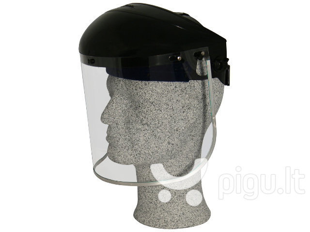 Apsauginis skydelis Zekler 10 kaina ir informacija | Galvos apsauga | pigu.lt