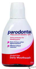 Burnos skalavimo skystis Parodontax Mouthwash 500 ml