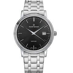 Наручные часы Claude Bernard, 53009 3M NIN, Classic, Ø42 мм цена и информация | Мужские часы | pigu.lt