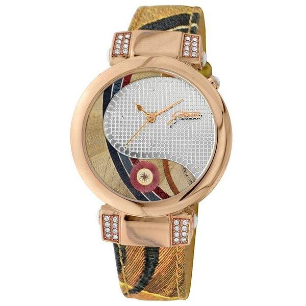 Laikrodis moterims Gattinoni Tucana Planetarium Rose Gold kaina ir informacija | Laikrodžiai moterims | pigu.lt